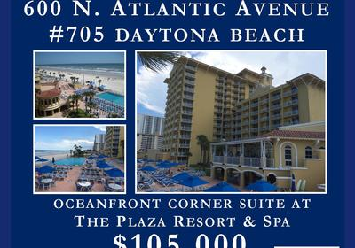 JUST LISTED! Corner Suite in The Plaza Resort & Spa!