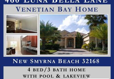 UNDER CONTRACT!! 460 LUNA BELLA IN NSB!