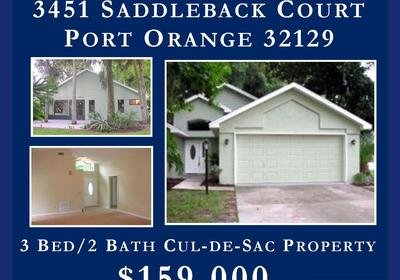 3 BED/2 BATH FOR SALE IN PORT ORANGE