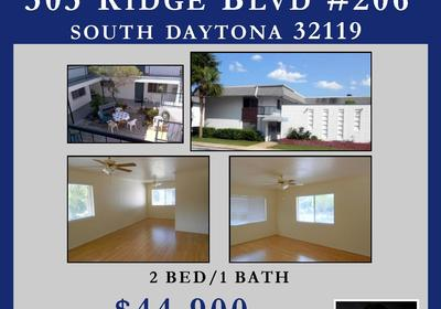 303 RIDGE BLVD #206 SOUTH DAYTONA