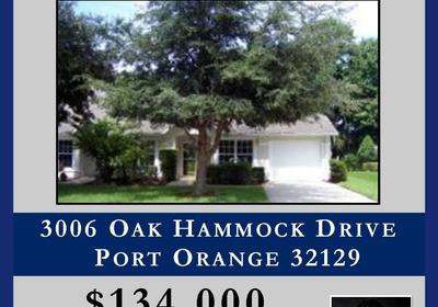 SOLD!! 3006 Oak Hammock Drive!