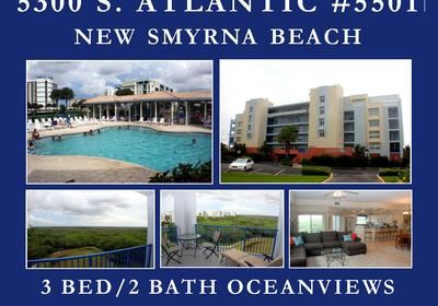 FOR SALE! 3 BED/2 BATH WITH OCEANVIEWS IN NSB!