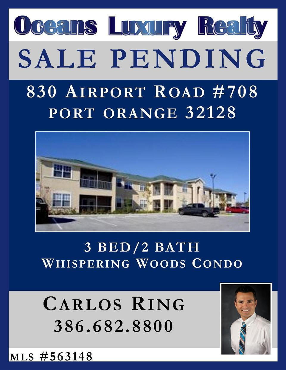 AIRPORT RD IS NOW UNDER CONTRACT!