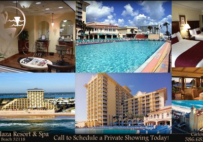 NEW LISTING IN THE PLAZA RESORT & SPA UNIT 414!!
